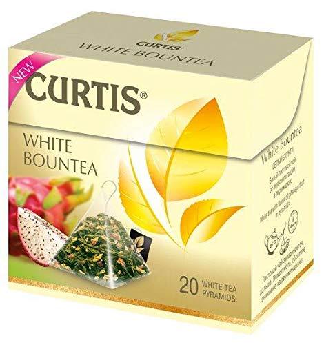 Tee Curtis White Bountea Weißer Tee mit Drachenfruchtgeschmack 20Beutel
