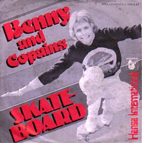 Copains - Skateboard (Uh-Ah-Ah) - Hansa International - 11 512 AT, Hansa - 11 512 AT