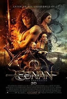 conan the barbarian original movie poster