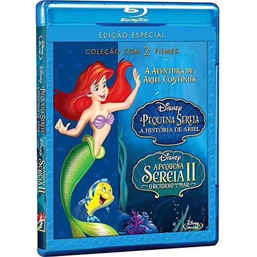A Pequena Sereia - A História de Ariel + A Pequena Sereia II o Retorno Para o Mar