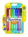 Paper Mate InkJoy 100RT Lot de 20 Stylos bille rétractable pointe moyenne Couleurs Assorties