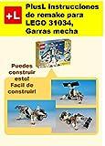 PlusL instrucciones de remake para LEGO 31034,Garras mecha: Usted puede construir Garras mecha de sus propios ladrillos!