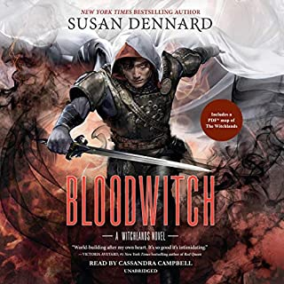 Bloodwitch     A Witchlands Novel, Book 3              By:                                                                                                                                 Susan Dennard                               Narrated by:                                                                                                                                 Cassandra Campbell                      Length: 18 hrs and 17 mins     72 ratings     Overall 4.6