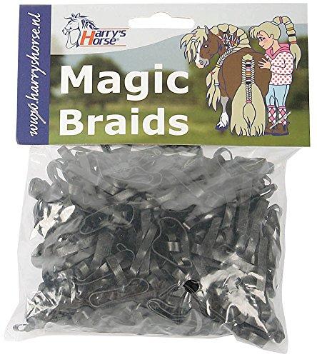 Harry's Horse Magic Braids, zak, Farbe:schwarz