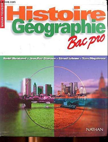 Histoire, géographie, Bac pro : Première & terminale professionnelles (Images)