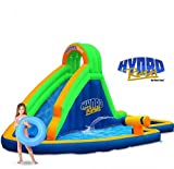 Blast Zone Hydro Rush - Inflatable Water Park with Blower - Curved...