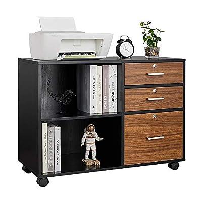 Bonnlo Wooden File Cabinet