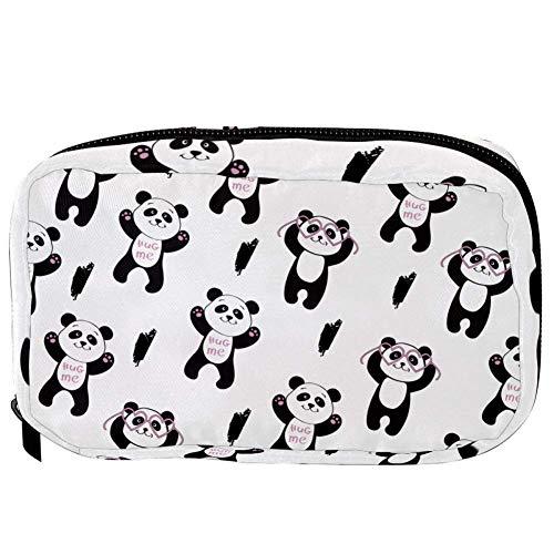 TIZORAX Cosmetische Tassen Knuffel Me Panda Handige Toilettas Reistas Oragniser Make-up Pouch voor Vrouwen Meisjes