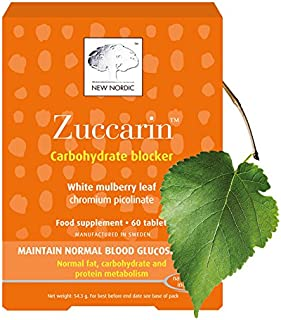 New Nordic Ltd New Nordic Zuccarin Extra Strength Natural Supplement (60 Tablets)