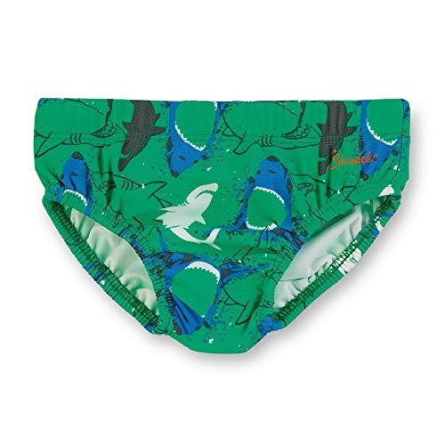 Sterntaler Kinder Jungen Badehose mit Windeleinsatz, UV-Schutz 50+, Alter: 18-24 Monate, Größe: 92, Blau/Grün (Pfefferminz)