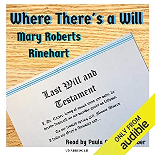 Where There's a Will audiobook cover art