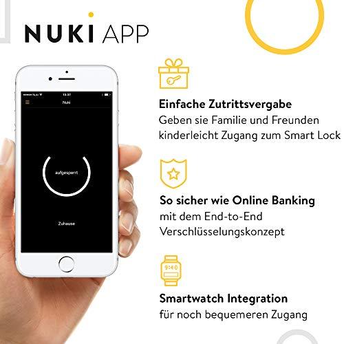 Nuki Smart Lock 2.0 – Apple HomeKit – Amazon Alexa – Google home – IFTTT – Elektronisches Türschloss - 4
