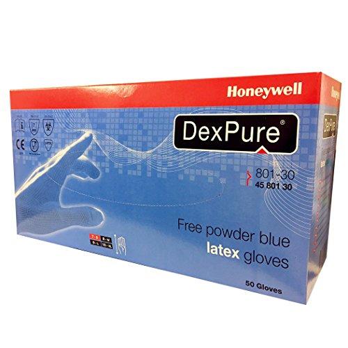 Honeywell 4580130–09801–30dexpure Handschuh–Blau (50Stück)