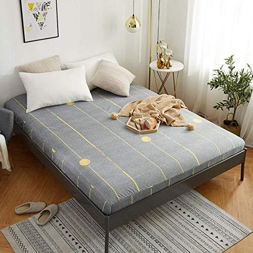 RESUXI Koning size matrasbeschermer, Waterdicht en ademend bed deksel urine-proof enkele matrasovertrek stofovertrek