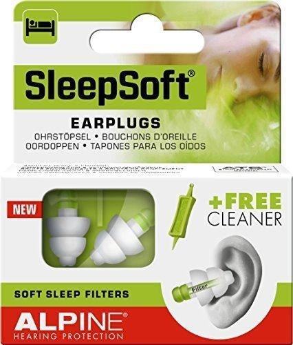 Alpine SleepSoft Earplugs–Paquete de 2