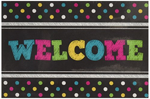 Teacher Created Resources Chalkboard Bright's Welcome Postcards (5838)