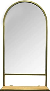Stratton Home Décor Stratton Home Decor Madeline Mirror with Collapsible Shelf, 16.14