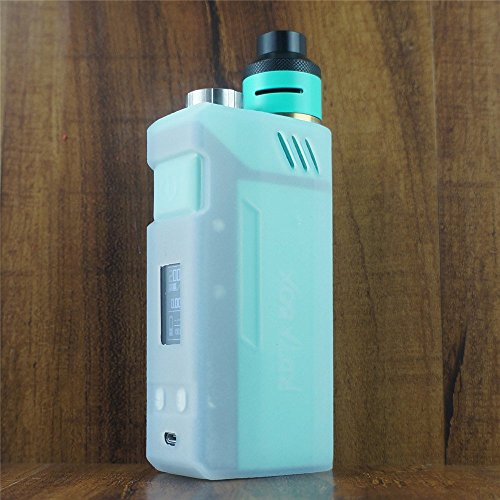 ModShield for IJOY RDTA BOX 200W Silicone Case ByJojo Sleeve Skin Wrap Cover Shield (Clear Opaque)