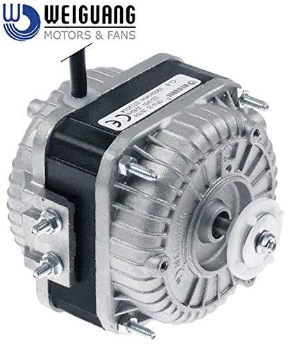 Lüftermotor 16W 230V 50-60Hz L1 45mm L2 61mm für Amatis, Cookmax, Electrolux, Inomak, Mareno und mehr
