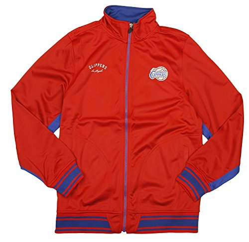 Zipway Los Angeles Clippers NBA Big Boys Tricot Track Jacket, Red
