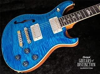 PRS McCarty 594 Semi-Hollow Electric Guitar 10-Top Aquamarine (SN:0269250)