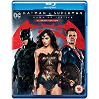 Batman V Superman - Dawn Of Justice: Ultimate Edition (2 Blu-Ray) [Edizione: Regno Unito] [Reino Unido] [Blu-ray]