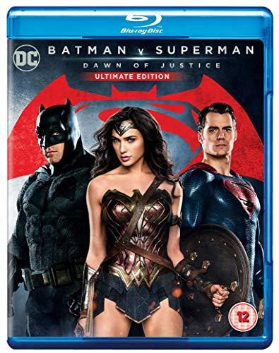 Batman V Superman - Dawn Of Justice: Ultimate Edition (2 Blu-Ray) [Edizione: Regno Unito] [Reino Unido] [Blu-ray]