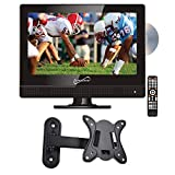 Supersonic SC-1312 13.3' LED Widescreen HDTV with DVD Player and Wall Mount