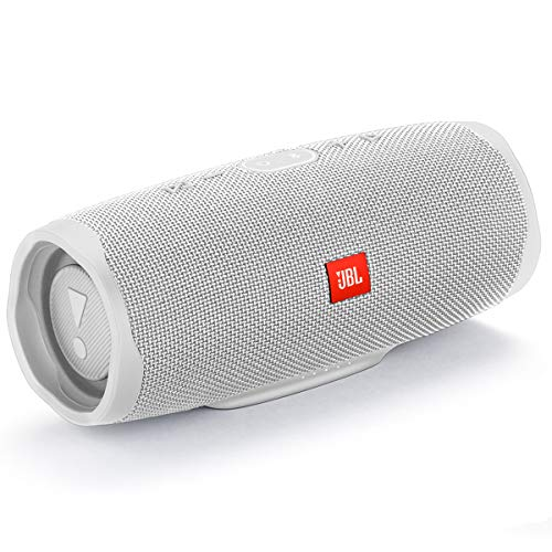 JBL Charge 4 Waterproof Portable Bluetooth Speaker- White (JBLCHARGE4WHTAM)