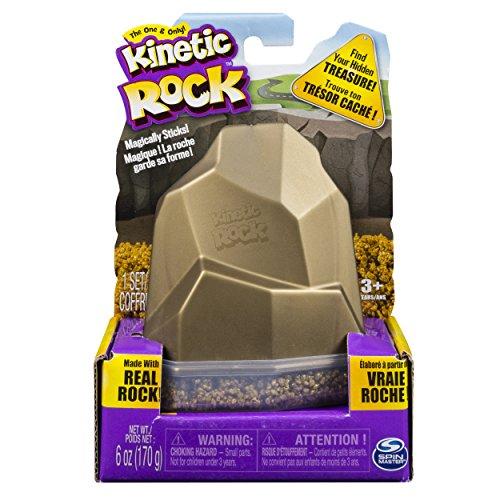 Kinetic Rock 6036215 - Confezione Roccia, Oro