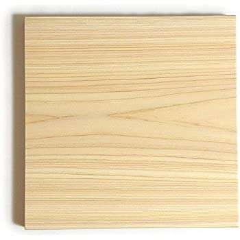 専門店のひのきまな板(正方形) 250×250×30mm