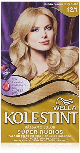 Wella Kolestint - Bálsamo, color rubio ceniza muy claro 12/1
