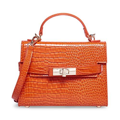 Steve Madden Steve Mdden DIGNIFY Croco Top Handle Bag, Orange