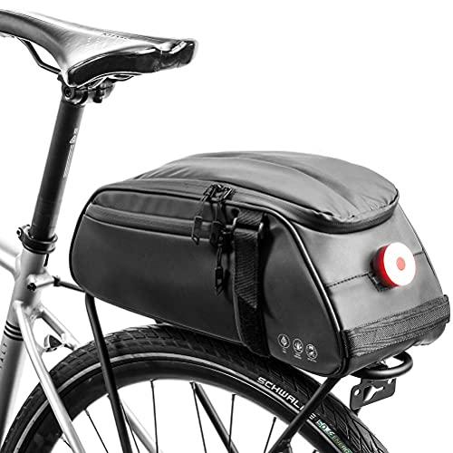 Akemaio Estante Multifuncional Posterior de la Bicicleta del Bolso Impermeable Estante de la Bici del Asiento del Bolso al Aire Libre de Bicicletas Pannier del Tronco del Hombro