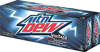Mountain Dew Voltage 12 fl oz cans  12 Pack