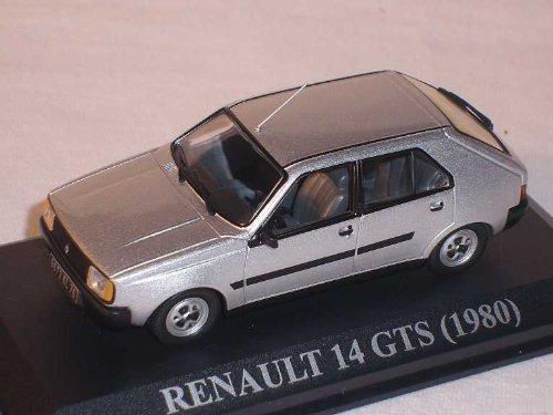 RENAULT 14 GTS 1980 SILBER 1/43 DEL PRADO MODELL AUTO MODELLAUTO SONDERANGEBOT