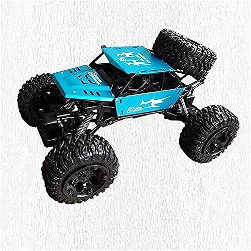 Control remoto coche super RC vehículo todoterreno RTR gran neumático radio control remoto RC vehículo todoterreno juguete RC monstruo coche eléctrico escalada coche azul