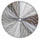 MAGICDSK LCD300 Disco diamantato laser professionale Ø 300 mm, h 10 mm, foro 22,23 mm, taglio: cemento armato, cemento, granito, laterizi, pietra (Ø 300 mm)