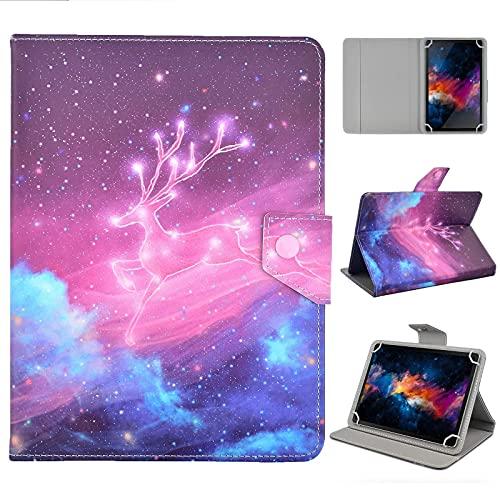 KATUMO Universal Tablet Cover per 7.0 - 8.4 Pollici Custodia Rigida per Lenovo Tab M8, MatePad T8, Galaxy Tab A8, Lenovo Tab4 8, Blackview Tab 8E, Haehne 8 Book Cover