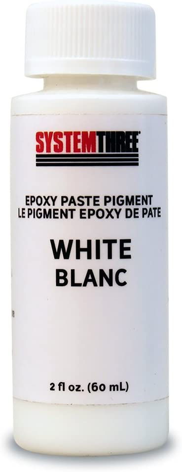 System Three 3200A04 White Paste 2 famous Opening large release sale Coating oz. Bottle Pigment