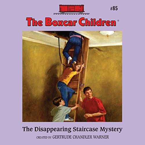 The Disappearing Staircase Mystery cover art