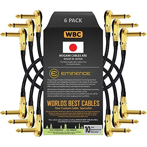 10最佳仪器贴片电缆Mogami 2020