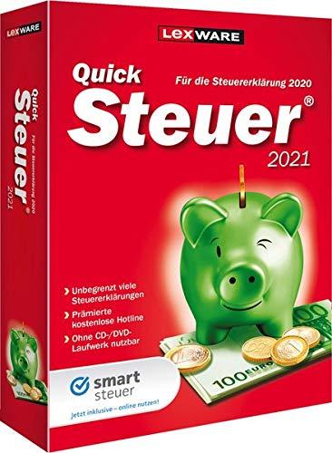 QuickSteuer 2021: Steuern sparen - Schnell! Einfach! Sicher!