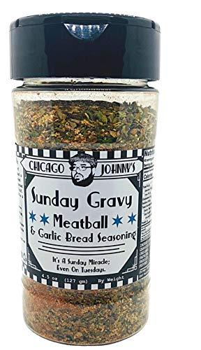 Sunday Gravy Seasoning and Meatball Seasoning and Garlic Bread Seasoning