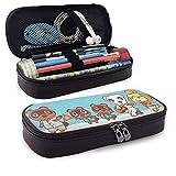 Animal Crossing Estuche, Estuches de gran capacidad/Estuche para bolígrafos/Estuche para lápices con múltiples compartimentos for Boys and Girls