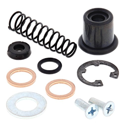 All Balls Racing Master Cylinder Rebuild kit 18-1017 Compatible With/Replacement For Yamaha YSR50 1987-1992, YZ125 1985-1989, YZ250 1985-1989