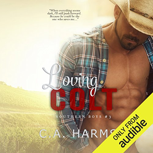 Loving Colt audiobook cover art