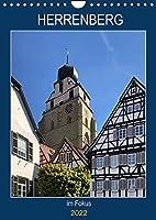 Herrenberg im Fokus (Wandkalender 2022 DIN A4 hoch): Mittelalterliche Stadt bei Stuttgart (Planer, 14 Seiten )