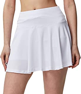 Women's Active Athletic Built-in Shorts Skirt Performance Skort with Pockets for Running Golf Tennis Yoga(S-3XL)