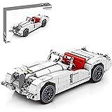 FYHCY Technic Car Vintage Model Kit, 715 Piezas Retro Car Pull Back Building Blocks compatibles con Lego Technic